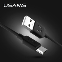 USAMS Micro USB Cable 5V2A Fast Charger USB Cable for Samsung Micro USB Fast Data Sync Charger Cable for Xiaomi HuaWei HTC LG