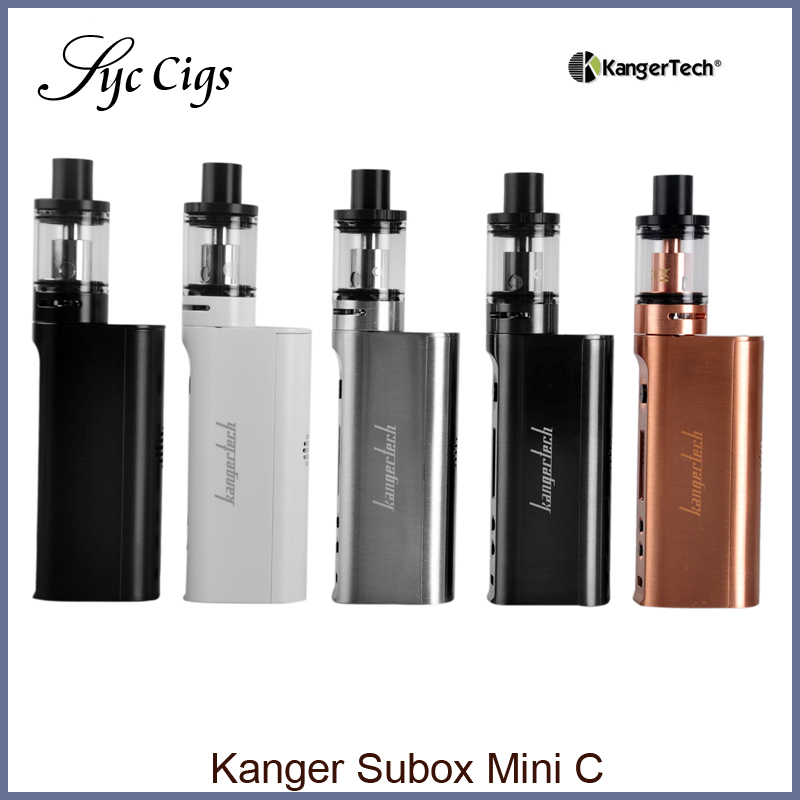 ФОТО Kanger Subox Mini C Starter Kit 50w with Kangertech Kbox Mini-C Mod Box and Protank 5 Atomizer Electronic Cigarette Vape Kit