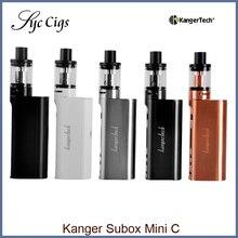 D'origine KangerTech Subox Mini C Starter Kit 50 W KBOX Boîte Mod vaporisateur Protank 5 Atomiseur SSOCC Vaporisateur e électronique cigarette