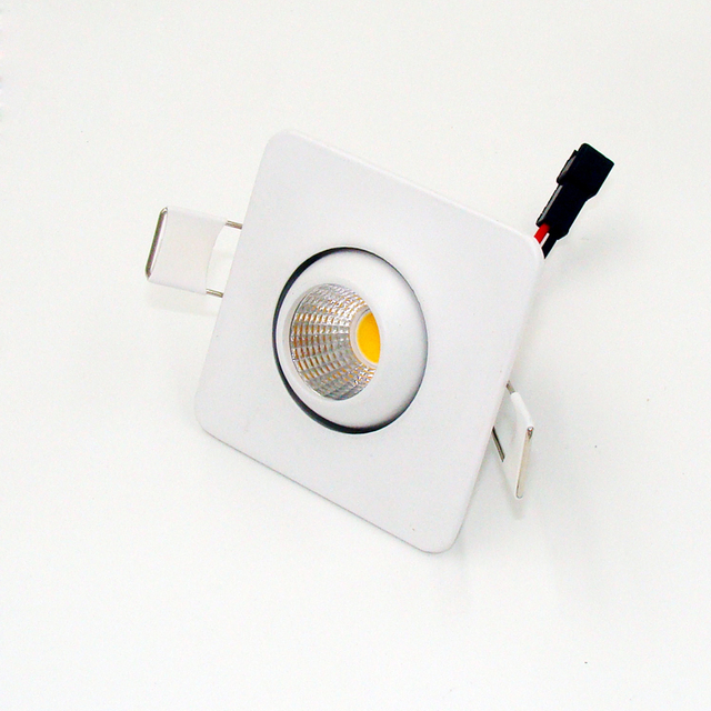 aliexpress koop led downlight 3 watt cob mini led spot light