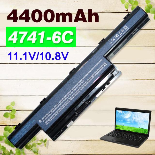4400mAh AS10D31 AS10D51 AS10D61 AS10D71 AS10D73 AS10D81 Battery for Acer Aspire V3 5741 5742 5750 5551G 5560G 5741G 5742G 5750G