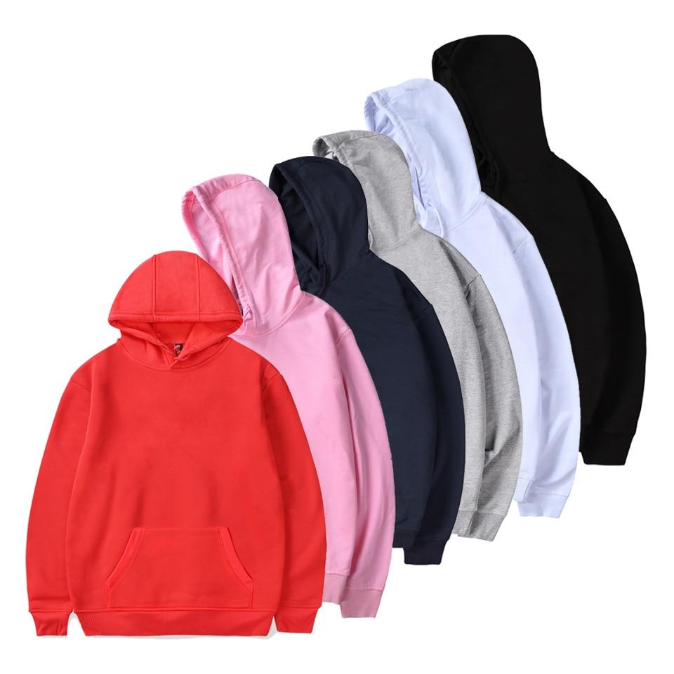 Solid Streetwear Hoodies Men's Sweatshirt Men Cotton Polyester Hip Hop Coat Pullover Male Hoodie Clothing HS003