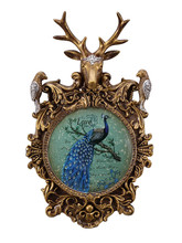 European-style American restaurant deer head wall hanging creative decoration pendant