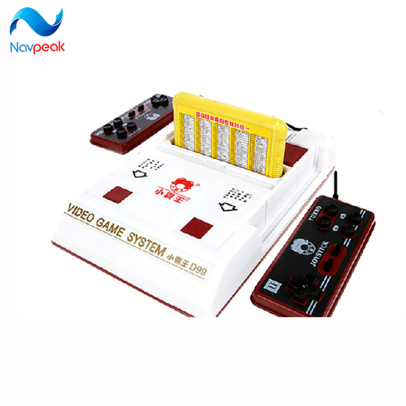 5pcs/lot New D99 Video Game Console Classic Family TV video games consoles player with free 400 IN1 games cards
