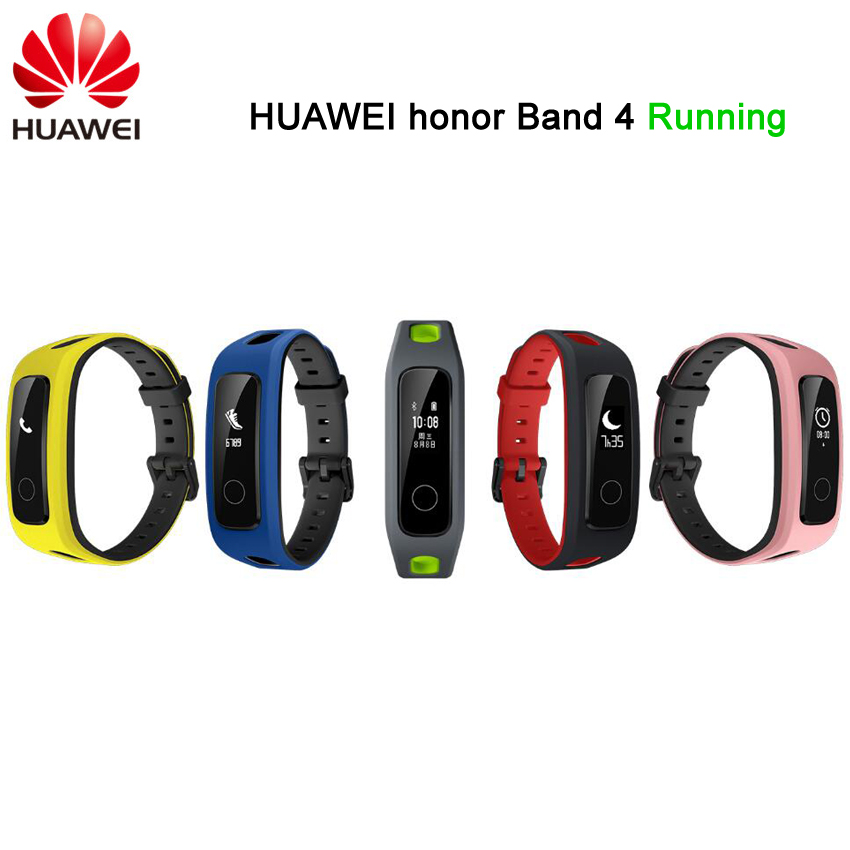 in stock! Original Huawei Honor Band 4 Running Edition Smart Wristband Shoes-Buckle Land Impact Sleep Snap Monitor Sport band