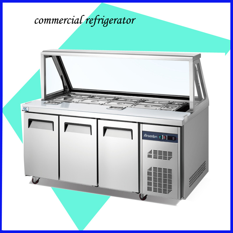 Under Counter Microwave For Easier Works: Hot Sale Under Counter Refrigerator Easy To Operate Salad