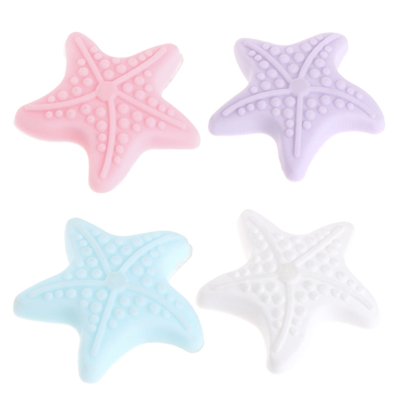 Lovely Starfish Sticky Door Stopper Shockproof Crash Pad Anti-crash Safe Wall Protector Convenient