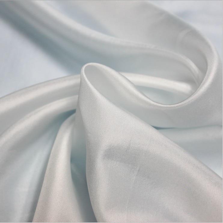 d2269a21e0fdd 10 ملليمتر الحرير habotai نسيج 100% التوت الحرير النسيج الطبيعي أبيض اللون  43 gsm 140 سنتيمتر 114 سنتيمتر واسعة 100 متر صغيرة الجملة