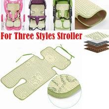 Детский многофункциональный льняной крутой коврик для коляски