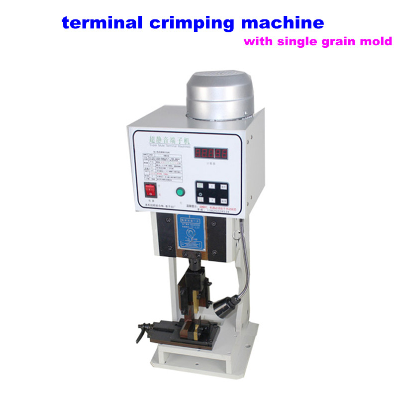 Terminal Crimping Machine 1.5T Terminal Crimper with single grain mold Wire Crimping Machine pz0 5 16 0 5 16mm2 crimping tool bootlace ferrule crimper and 1k 12 awg en4012 bare bootlace wire ferrules