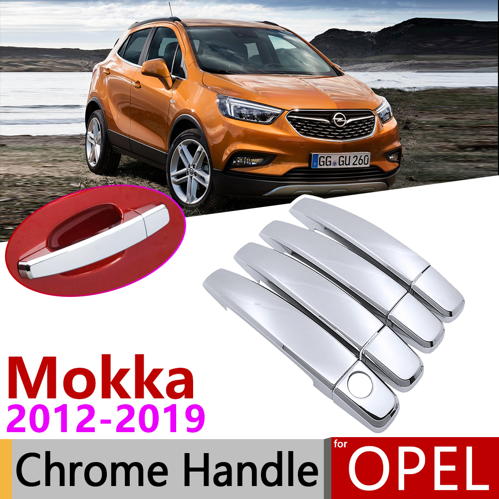 For Buick Encore Opel Vauxhall Mokka Chrome Rear Window Wiper Cover Trim Molding