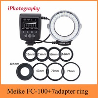 Meike FC 100 For Canon Macro Ring Flash Light MK FC100 For Nikon For Canon EOS