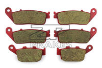 Motorcycle Brake Pads Ceramic Composite For TRIUMPH 800 Tiger 2011 2014 Front Rear OEM New High