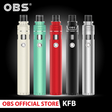 Original OBS KFB Kit Electronic Cigarette kit with 18650 Battery&2ml Tank Atomizer 0.3ohm Coil Vape pen kit цены онлайн