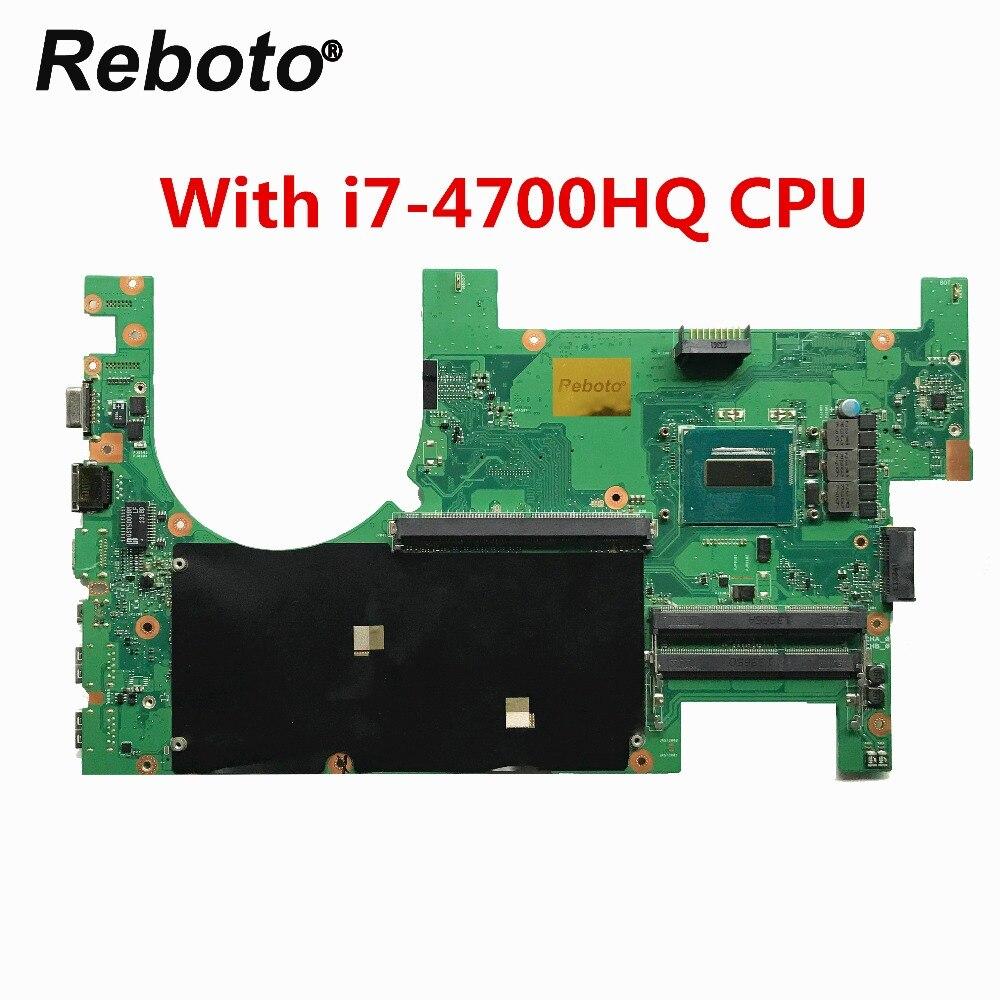 2,1 Hm87 Mit Sr15e I7-4700hq 2,4 Ghz Cpu Ddr3l 100% Geprüft Schnelles Schiff Ohne RüCkgabe Laptop Zubehör Hohe Qualität Für Asus G750jw Laptop Motherboard Rev