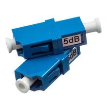5PCS LC UPC 5bd Simplex mode fiber optic Attenuator 5dB metal male Fiber