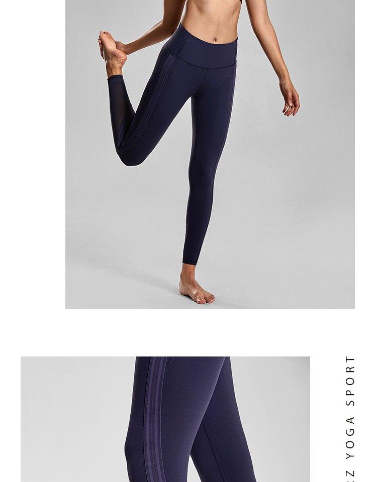 efb71090c93789 2019 CRZ YOGA Women'S 4 Way Stretch Mesh Leggings High Waist Yoga ...