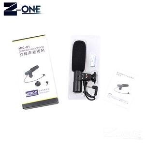 Image 5 - Mic 01 microfone profissional da câmera do condensador para canon eos m2 m3 m5 m6 800d fr 750d 77d 80d 5ds r 7d 6d 5d marca iv
