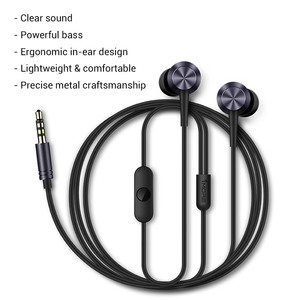 Image 2 - 1MORE E1009 Piston Fit In Ear หูฟังหูฟังหูฟังพร้อมไมโครโฟนสำหรับ iOS และ Android โทรศัพท์ Xiaomi iPod iPad กล่องต้นฉบับ