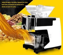 Холодной и горячей двойной давление масла Кокосовое Масло Машина оливковое масло машина для добычи 110 В/220 В