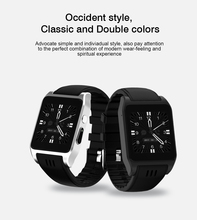 Cheapest 3G Wifi X86 Bluetooth Smart Watch Android Clock Sim Card Camera Smartwatch Support App Download For iOS Android VS DZ09