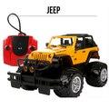 Nuevo 1/14 jeep wrangler rubicon simulado esquí de rc de radio control remoto de coches de juguete modelo de coche de carreras de la venta caliente juguetes brinqued