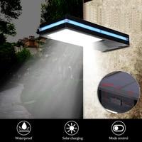 2 Modes 144LEDs Solar Power Motion Sensor Garden Security Lamp Wall Porch Light Outdoor Waterproof Light Energy Saving
