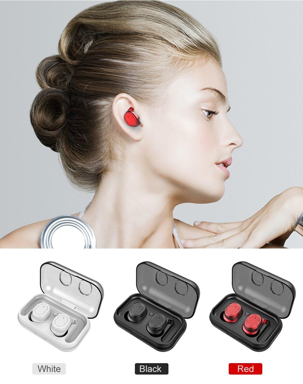 White Black In-ear Headphone Online | Cornmi.com