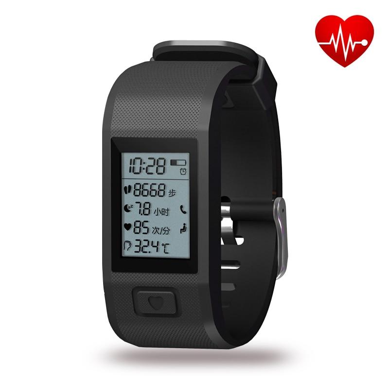 Hesvit G1 Bluetooth Smart Bracelet Heart Rate Monitor Smart Band Passometer Fitn