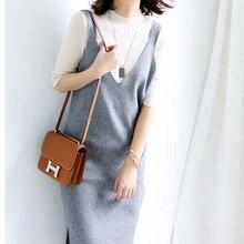 Women Dresses Cashmere and Wool Blend Knitwear Hot Sale Long