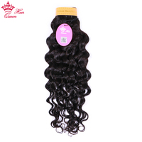 Queen Hair Indian Water Wave Bundles Human Hair Weave Bundles Natural Water Wave Hair Extensions Remy Hair Free Shipping