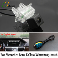 Laijie Backup Camera For Mercedes Benz E Class W212 S212 C207 Facelift After 2013~2016 / OEM Monitor Compatible Rear View Camera