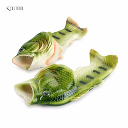 Men Fish SLIPERS Women Summer Outdoor Sandals and Slippers Men Beach Shoes Couple Fish Slippers Women Sports Shoes klapki