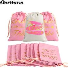 OurWarm Bridal Shower Party Favors Bag Bridesmaid Gift Pink Bachelorette Wedding Favor Guest Gifts Overseas Warehouse