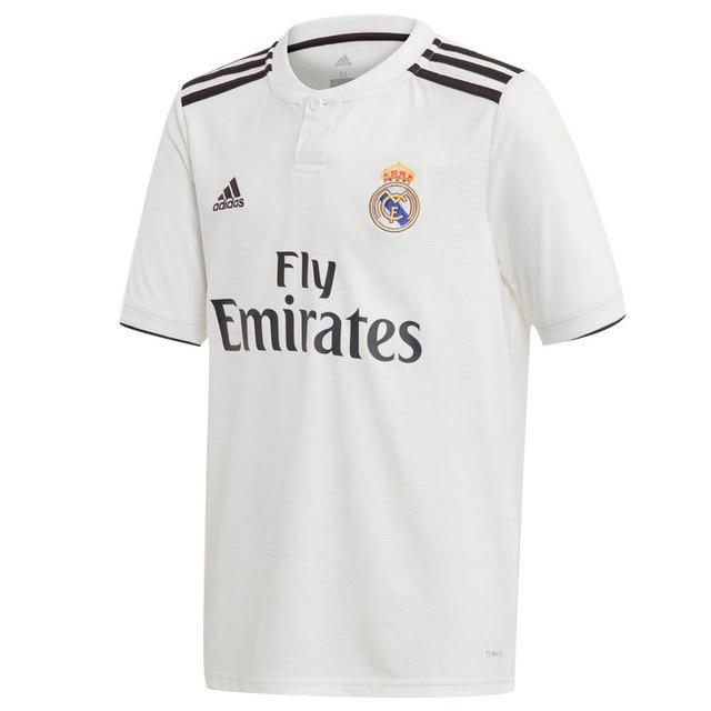 Soccer Adidas White da Maglietta 2019 Real 2018 Soccer calcio Man Madrid Ybf6ym7vIg