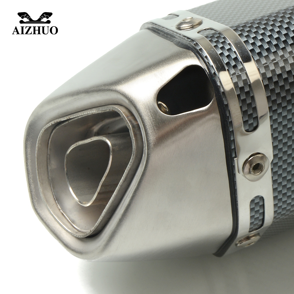 Motorcycle Exhaust pipe Muffler Escape DB killer 36MM 51MM FOR DUCATI 750 1000 Monster M900 1100 400 620 695 696 796 MONSTER in Exhaust Exhaust Systems from Automobiles Motorcycles
