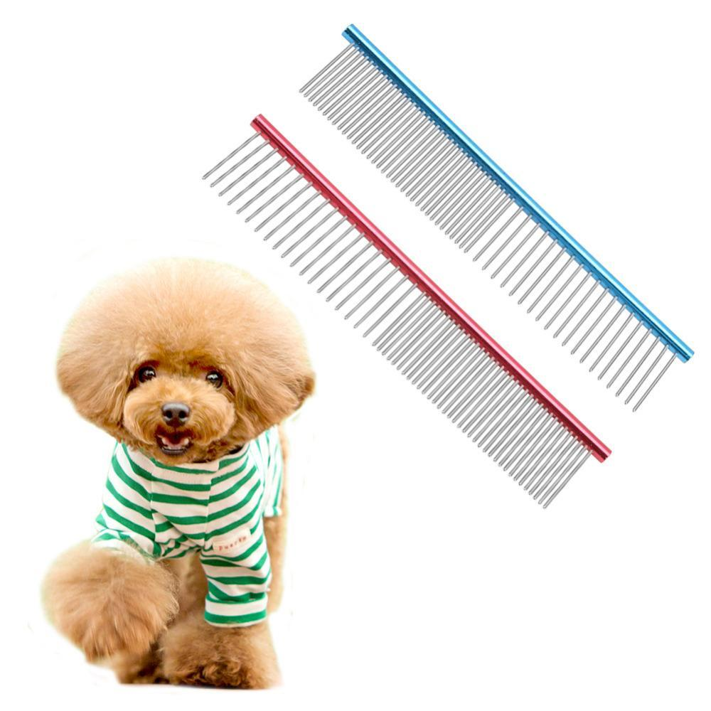 <font><b>Dog</b></font> <font><b>Combs</b></font> <font><b>Stainless</b></font> <font><b>Steel</b></font> <font><b>Lightweight</b></font> Long Thick Hair Fur Removal Brush <font><b>Pets</b></font> <font><b>Dog</b></font> <font><b>Cat</b></font> Grooming <font><b>Combs</b></font>