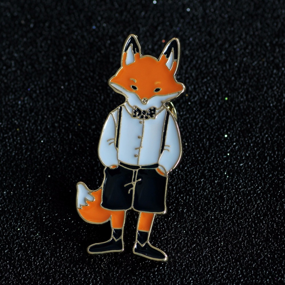 Timlee X297 Envío gratis Cartoon Cute Cats Rabbits Foxes Metal - Bisutería - foto 4