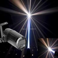 Total 5W LED White Beam Pinspot Light Spotlight Super Bright Lamp Mirror Balls DJ Disco Effect