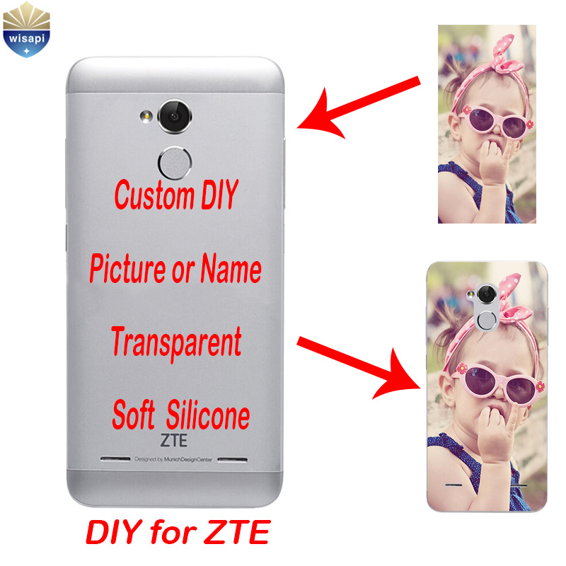 Custom oem diy photo for zte blade v7 lite phone case for for Diy custom phone case