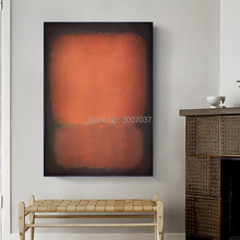 Free Shipping by DHL FEDEX UPS 100% Handmade Mark Rothko Abstract Oil Painting on Canvas Unframed for Home decor pcb 650 091 pcb650 091 fast cheap shipping by dhl ups tnt fedex express