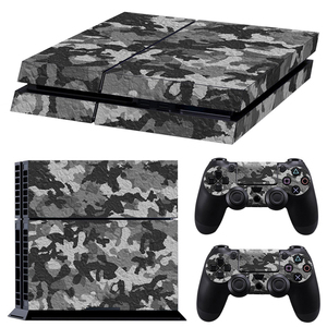 Image 5 - Classic PS4 Skin Camouflage Vinyl Cover Decal PS4 Skin Sticker for Sony Play Station 4 Console and 2 Controller Sticker