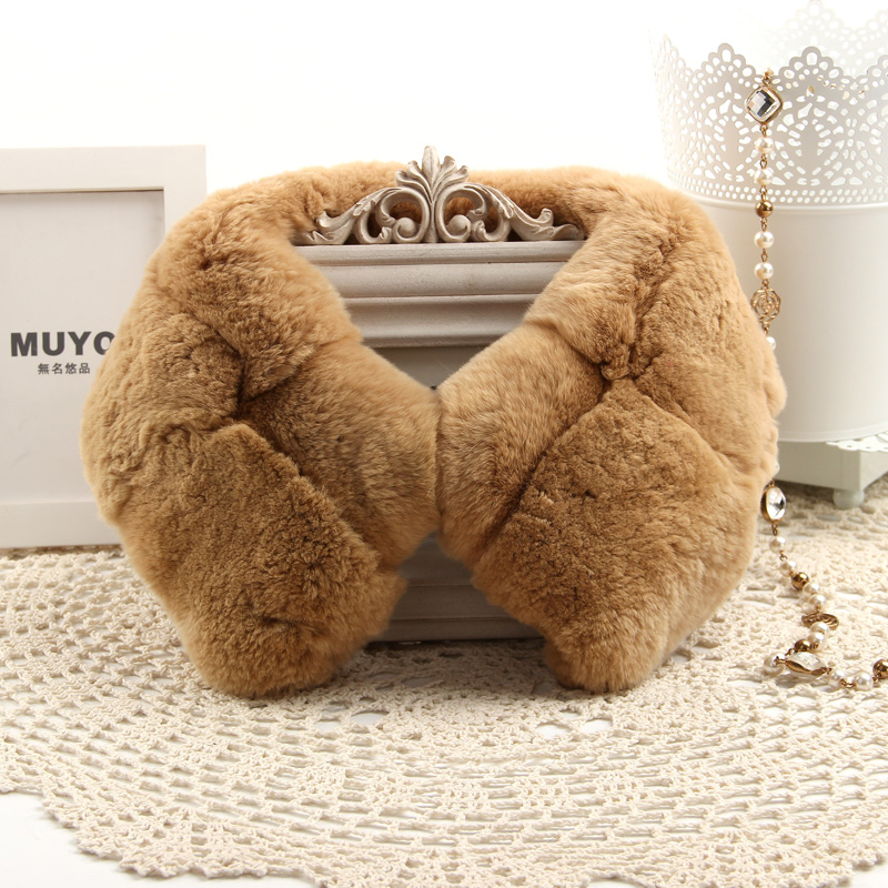 2015 Top Fashion Solid New Winter Scarf Women Fox Fur Collar Rabbit Raccoon Caps Real Warm Rabbit fur Scarves Shawls 2017 winter new clothes to overcome the coat of women in the long reed rabbit hair fur fur coat fox raccoon fur collar