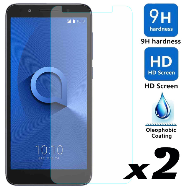 elegaming 2pcs Tempered Glass Screen Protector Explosion-proof Protective Front Films