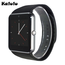 GT08 Smart Watch Support Sim Card Clock Sync Notifier Bluetooth Connectivity Android Phone font b Smartwatch