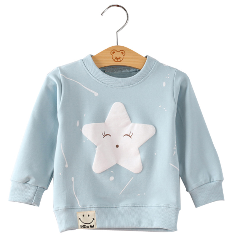 SenkinDogan Baby Sweatshirt Spring Autumn Baby Clothes Long Sleeve Cute Cartoon Baby Girls Boys Tops Casual Cotton Kids Clothing