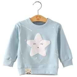 SenkinDogan Baby Sweatshirt Spring Autumn Baby Clothes Long Sleeve Cute Cartoon Baby Girls Boys Tops Casual Cotton Kids Clothing