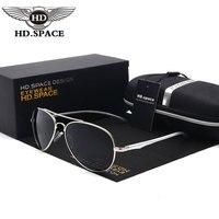 HD משקפי שמש מקוטבות אופנה גברים באיכות גבוהה חמה אל Mg משטרת נהיגה טייס קלאסי צפרדע משקפיים Oculos דה סול משקפי שמש LD025