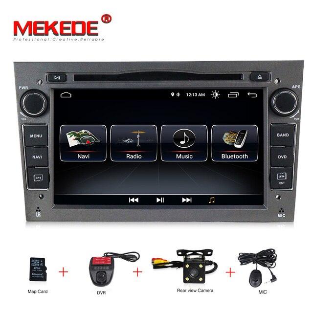 Android 8.1 1024X600 7 inch 2din Auto GPS DVD player für Opel Astra h g Zafira B Vectra C D Antara Combo Radio audio