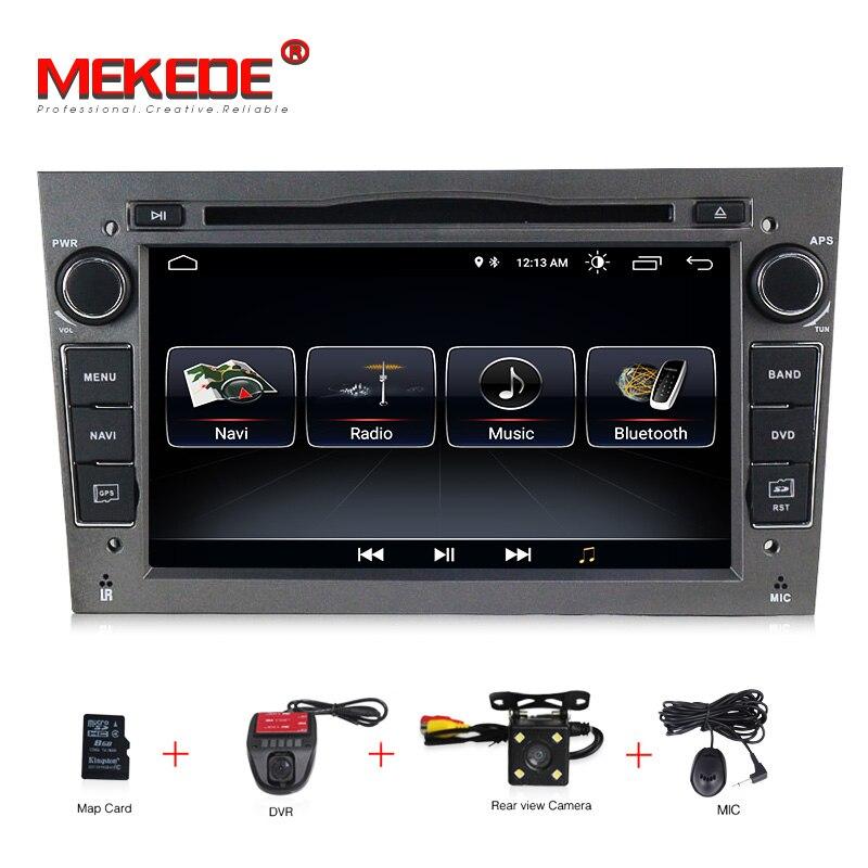 Android 8.1 1024X600 7 polegada 2din GPS Do Carro DVD player para Opel Astra h g Vectra Zafira B C D áudio Rádio Antara Combo